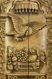 17ème. pupitre de siècle en Frise Image libre de droits