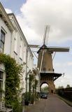 17世纪著名荷兰风车 免版税库存图片