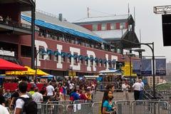 17个城市新的码头约克 免版税图库摄影