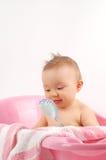 17个婴孩浴 免版税库存图片