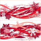 17副横幅圣诞节 免版税库存图片