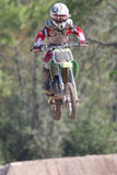 17摩托车越野赛 库存照片