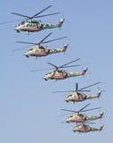 17支空军周年纪念俄语 免版税图库摄影