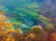 17瓷jiuzhaigou国民sicuan没有的公园 免版税图库摄影
