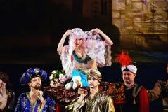 17芭蕾高萨亚顿涅茨克le行军 免版税图库摄影