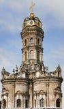 17 århundraden kyrka Royaltyfri Bild