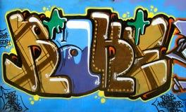 17 γκράφιτι Στοκ Φωτογραφία