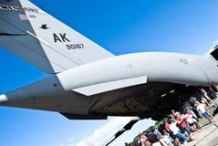 17 ο αέρας Boeing γ globemaster εμφανίζει Στοκ φωτογραφία με δικαίωμα ελεύθερης χρήσης