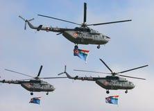 17 Военно-воздушные силы индийский mi Стоковые Фотографии RF