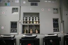 17 воздушных судн c внутри воинской панели Стоковая Фотография
