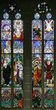 17 окно запятнанное стеклами Стоковые Изображения RF