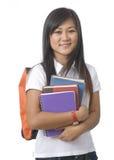 17 студентов книг Стоковые Фото