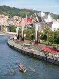 17 2008年augoust毕尔巴鄂重创的semana西班牙 库存图片