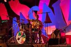 17 2009年节日汉诺威masala可以terrakota 免版税库存图片