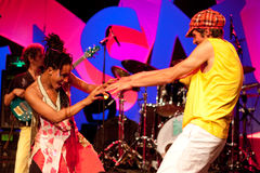 17 2009 masala de Hannovre de festival peuvent terrakota Image stock