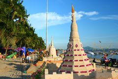 17 2009 songkran в октябре празднества Стоковые Изображения RF