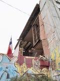 17 2010 землетрясений valparaiso -го Чили февраль Стоковое Изображение RF