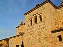 17 alhambra granada Royaltyfria Bilder