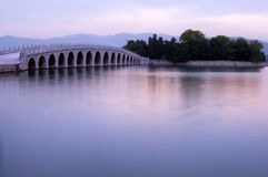 17-Arch bridge,Summer Palace Stock Photos