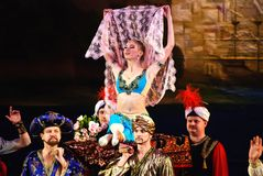 17 baletów corsaire Donetsk le marsz Zdjęcia Royalty Free