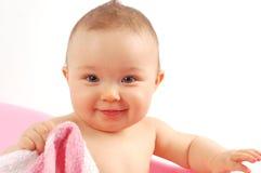 17 behandla som ett barn badet Royaltyfria Foton