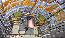 17 c globemaster内部喷气机 库存图片