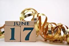 17 dag fader juni s Arkivfoton