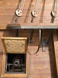 17. Jahrhundert Galleon Kanonen Lizenzfreie Stockfotos