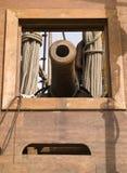 17. Jahrhundert Galleon Kanonen Lizenzfreies Stockfoto