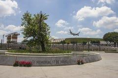 17. Juli-Denkmal (Flug 3054) - São Paulo Lizenzfreie Stockfotos