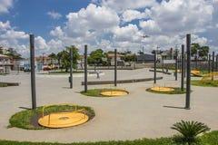 17. Juli-Denkmal (Flug 3054) - São Paulo Stockfotos