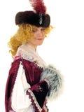 17 polerad kvinna för århundrade kläder Arkivbilder