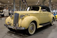 1700 1939 packard Royaltyfria Foton