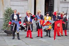 1706年再制定9月围困都灵 免版税库存照片