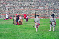 1706年再制定9月围困都灵 免版税库存图片