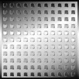 171007 plateados de metal Ilustración del Vector