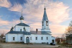 1740年通告教会kasimov 库存图片