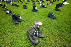 1746 Military boots Stock Images
