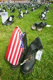 1746 Military boots Stock Image