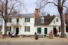 1762 geddy hus james va williamsburg Royaltyfri Fotografi