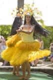 1766 танцоров tahitian Стоковые Фотографии RF