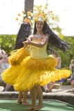 1766 danzatori tahitian Fotografie Stock Libere da Diritti