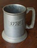 1776 tazze Fotografia Stock Libera da Diritti