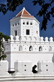 1782年曼谷堡垒phra sumane泰国 库存照片