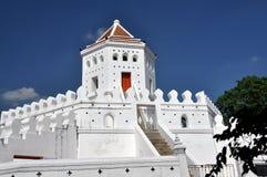 1782年曼谷堡垒phra sumane泰国 免版税库存照片