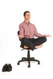 179企业瑜伽 库存图片