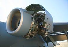 17个航空器c引擎军人 图库摄影