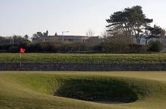 17de bunker & groen, St Andrews Oude Cursus Royalty-vrije Stock Afbeeldingen