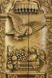 17mo. púlpito del siglo en Frisia Imagen de archivo libre de regalías