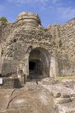 18世纪熔炉铁工厂 免版税图库摄影